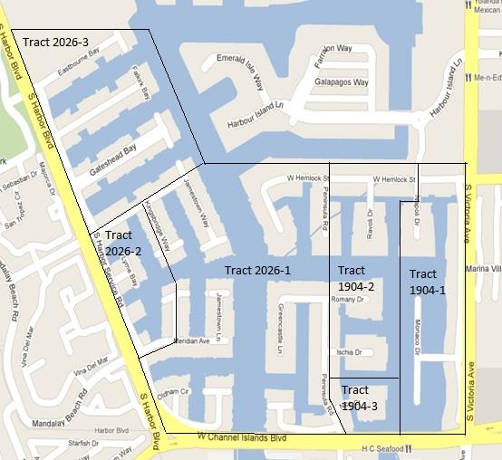 CIWHOA CCR's Tract map