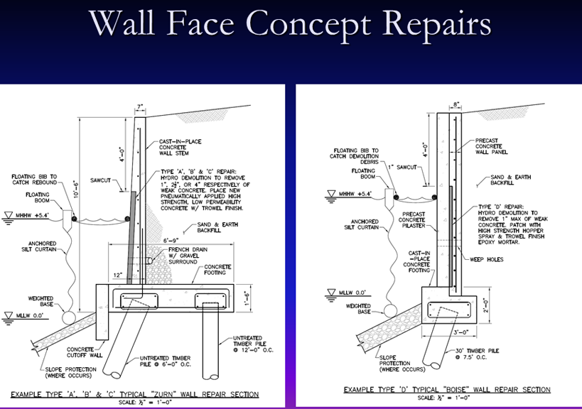 Wall Face Concept Repairs