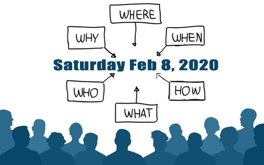 2020 CIWHA Annual Meeting Feb, 8th 2020