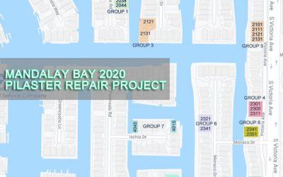 2020 Pilaster Repair Project UPDATES